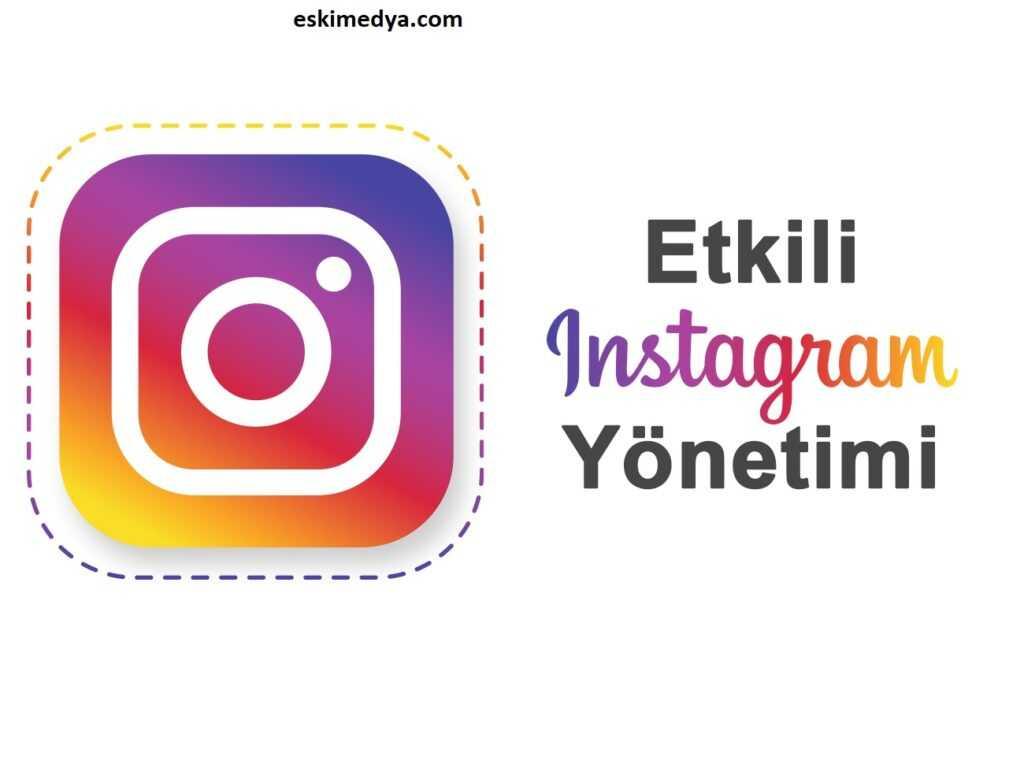 İnstagram sosyal medya yönetimi